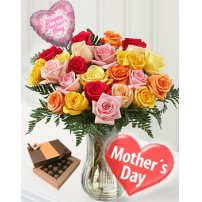 Rosas para Mamá, New York