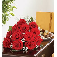 Roses and Chocs, Texas
