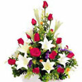 Roses and Lilies Basket, Culiacan-Sinaloa
