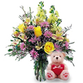 Arcoíris Floral, Flores