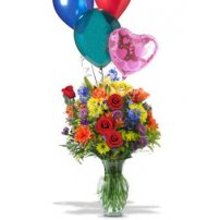 Balloons & Flowers, New York