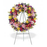 Sympathy Peace Wreath, Usa