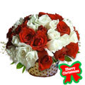 Holiday Roses Basket, Chile