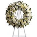 Corona de Condolencias, España