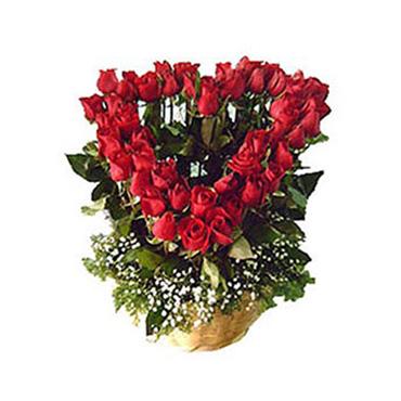 Corazón de Rosas <br>¡DISEÑO ÚNICO!