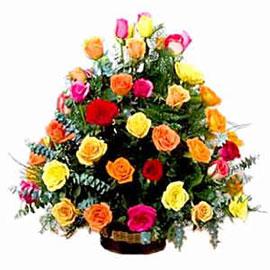 Acuarela de Rosas