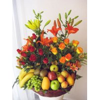 Mexican Fruits and Flowers, Puebla